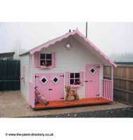 Painted Dreamhouse 5' x 10' - including Vat and Delivery*
