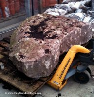Winter Rose Drilled Monolith Water Feature 1.2m