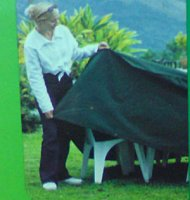Polyester Cover for Circular Patio Set - Medium