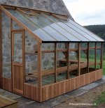 Lean-to Greenhouse 8'8 wide