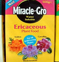 Miracle Gro Ericaceous Plant Food - 500g