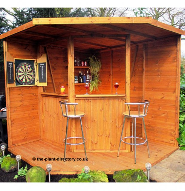 Garden Bar 8' x 8' - Click Image to Close