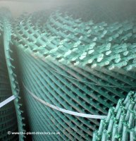 Grass Protection Mesh Heavy Duty 2000g - 15m x 2.5m