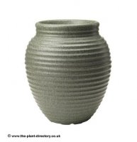 Honey Pot Planter - Marble Green 37cm
