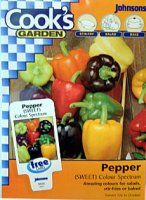 Pepper - Sweet Pepper Colour Spectrum
