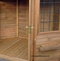 Octagonal Cedar Summerhouse 8' x 8' inc Vat and Delivery