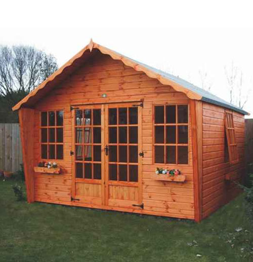 Belton Summerhouse 10' x 12' including Vat and Delivery - Click Image to Close
