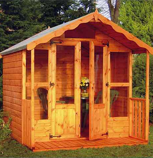 Fern Summerhouse 8 x 7 including Vat and Delivery* - Click Image to Close