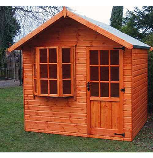 Rufford Bay Summerhouse 8' x 8' including Vat and Delivery* - Click Image to Close