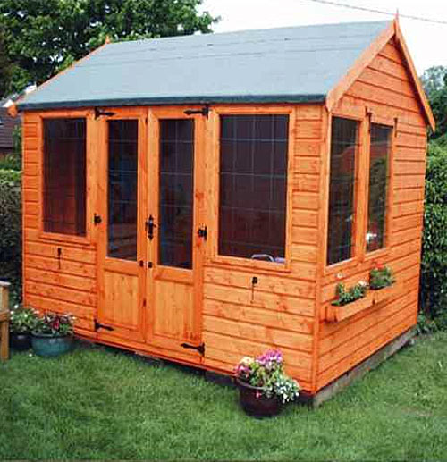Rutland Summerhouse 8' x 10' including Vat and Delivery - Click Image to Close