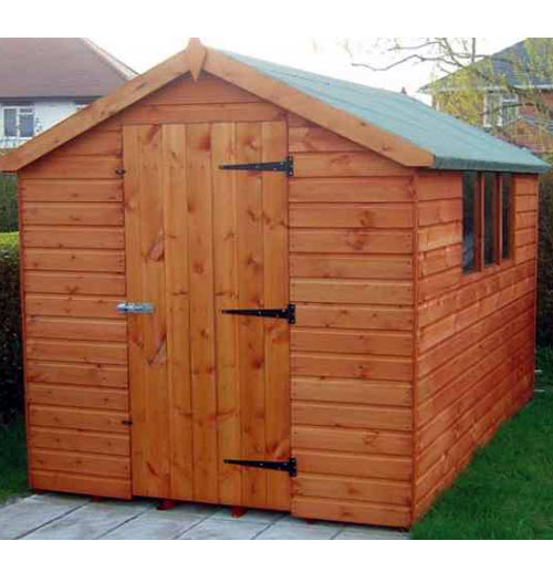Bramley Apex Garden Shed 8' x 8' - including Vat and Delivery* - Click Image to Close