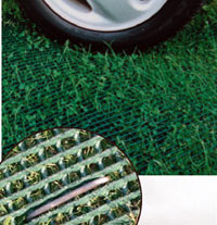 Grass Protection Mesh for parking on grass, parking on lawns, grass drive