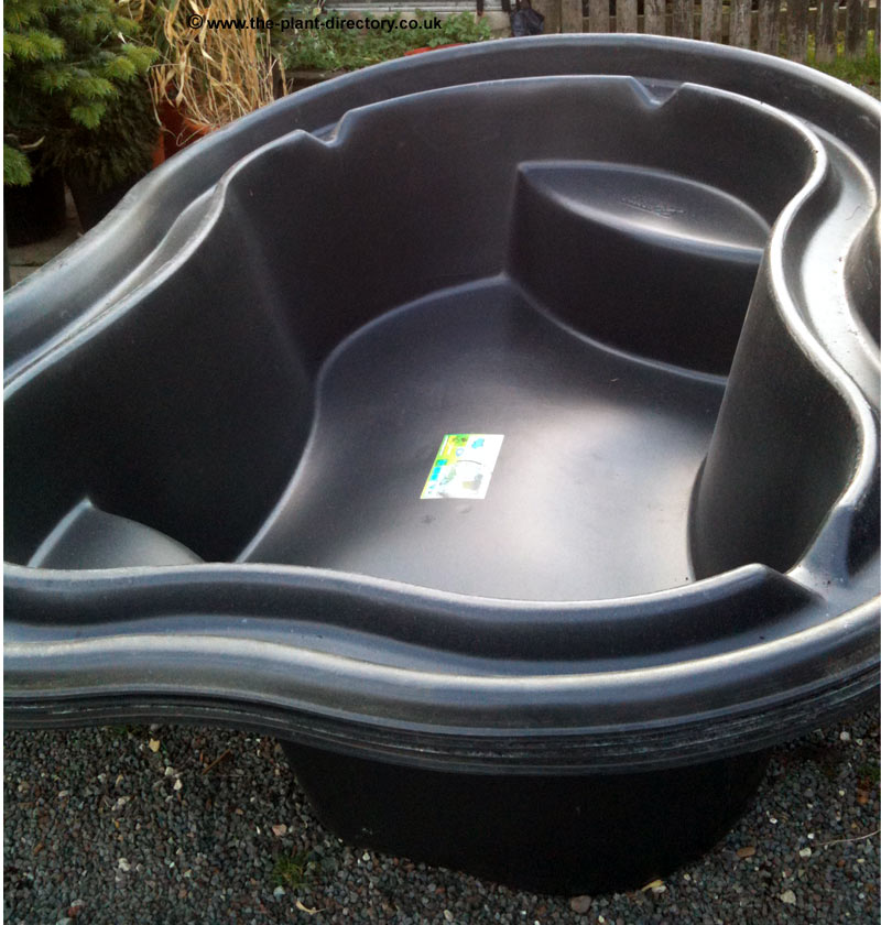 Preformed ponds plastic pond tubs the plant directory Preformed plastic pond