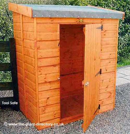 Tool Safe Shed 3' x 5' - including Vat and Delivery* - Click Image to Close