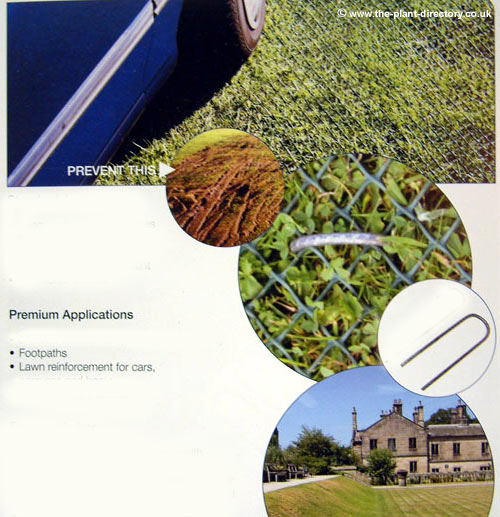 Grass Protection Mesh - 650g - 10m x 1m - Vat included