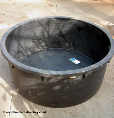 90cm Round Pond and Water Feature Reservoir - Click Image to Close